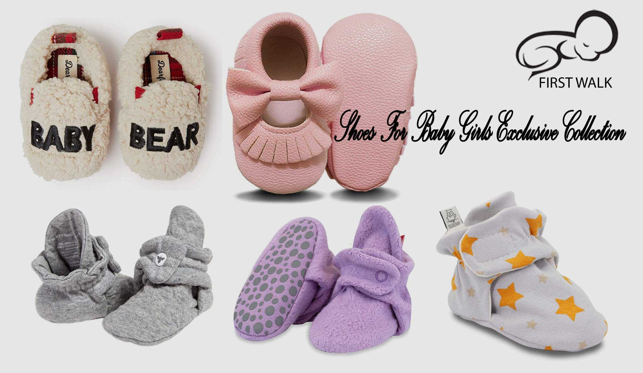 First Walker Shoes For Baby Girls Exclusive Collection